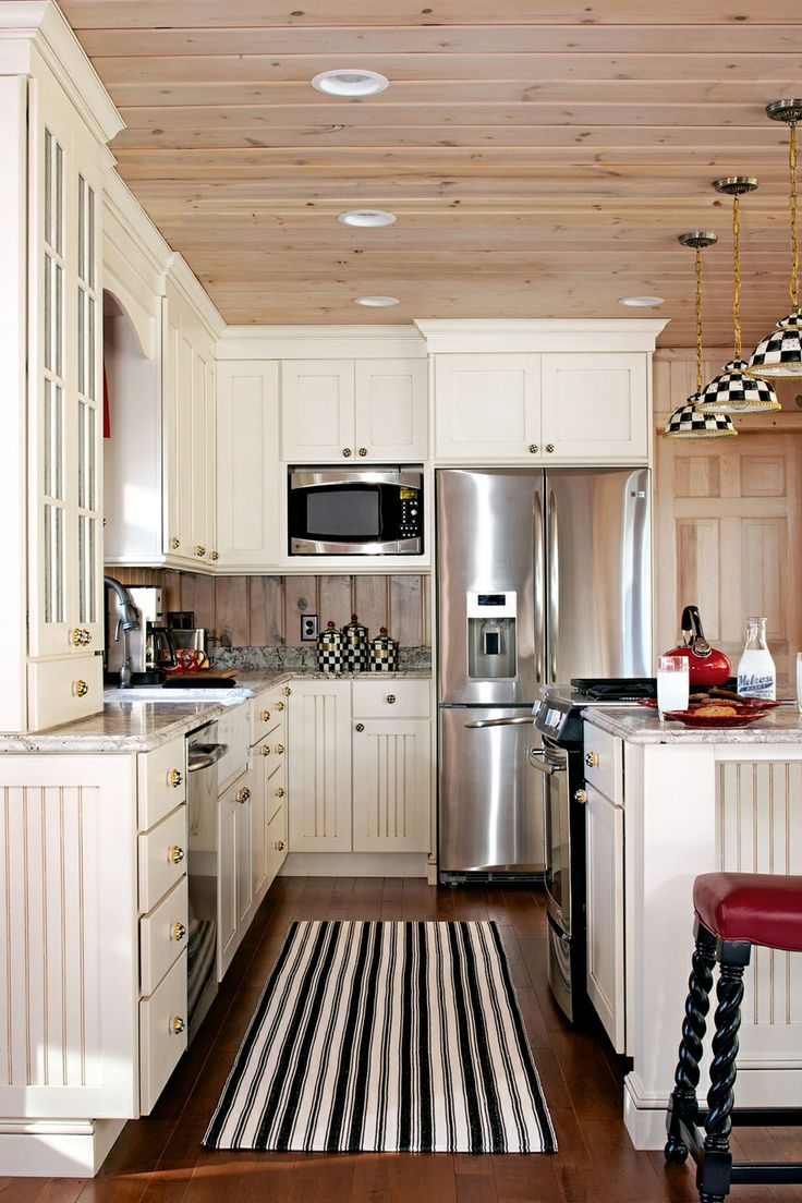 Pin by pamela adams esselman on lake house kitchen ideas for House kitchen cabinets