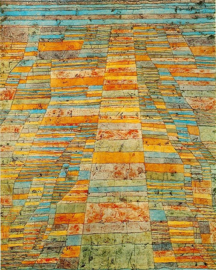 Highway and Byways  1929  by Paul Klee