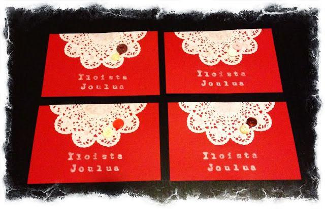 Terhin Tekemä: Joulukortit