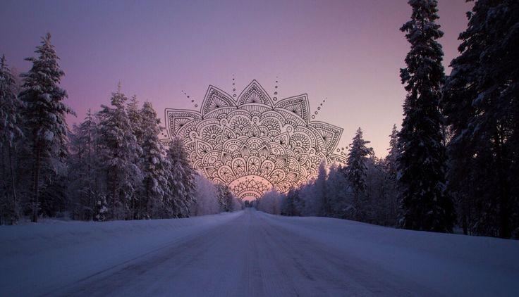 Cuando sabes donde vas. El Universo te abre el Camino... ॐ