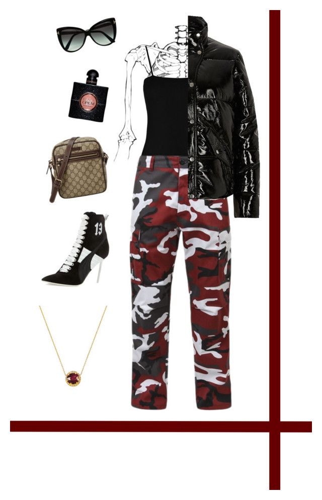 """""""flaunt"""" by holaallyy on Polyvore featuring Boohoo, River Island, Tom Ford, Gucci, Puma, Yves Saint Laurent, Johnny Was, StreetStyle, Rihanna and sass"""
