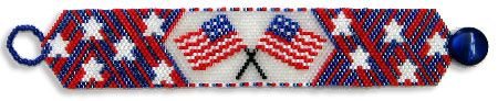 Happy 4th of July Bracelet by Ronit Florence