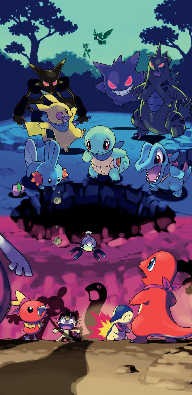 Pokemon Mystery Dungeon Red Blue Rescue Team Cool Pokemon Wallpapers Cute Pokemon Wallpaper Pokemon Backgrounds