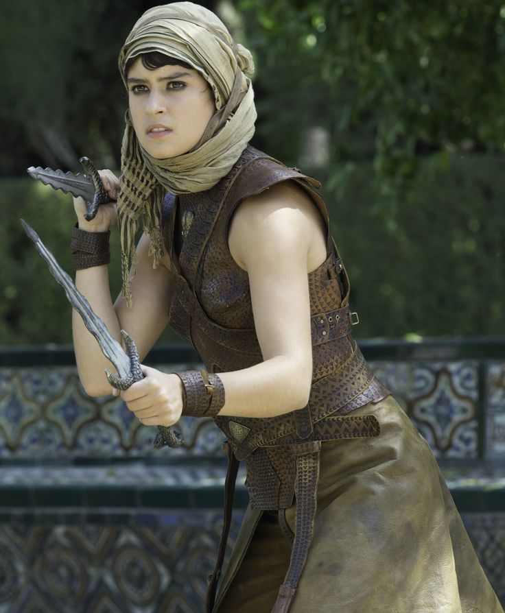 Tyene Sand - one of the sand snakes and bastard daughter of Prince Oberyn Martell
