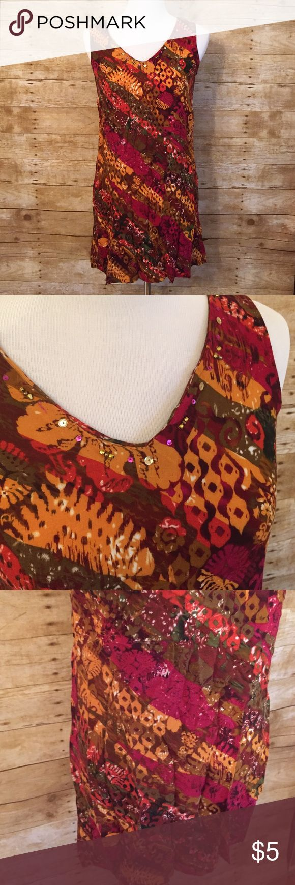 Fall tunic or dress Minor signs of wear. Size 6. Might be a little too short in my opinion for a dress. R&K originals is the brand (A18) r&k originals  Tops Tunics