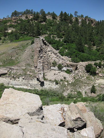Castlewood Canyon State Park, near Castle Rock, Colorado, USA. Love hiking here--not far from us either:) Great place to spend the day!