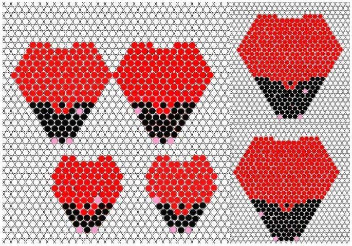 Роза в мозаичной технике / Цветы / Biserok.org