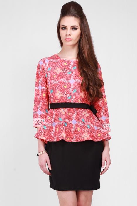 Teabag Kebaya Batik Dress