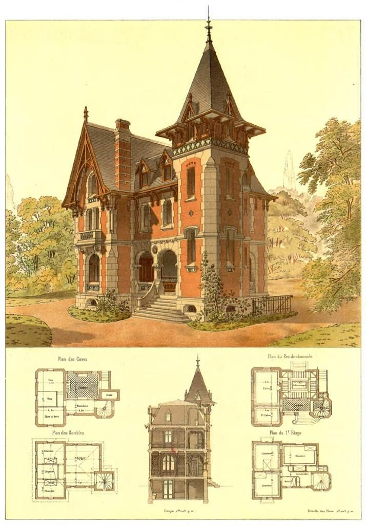 25 best ideas about victorian house plans on pinterest for Free home architecture design