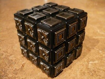 steampunk Rubik's Cube, ok not shiny but I NEED THIS!!!