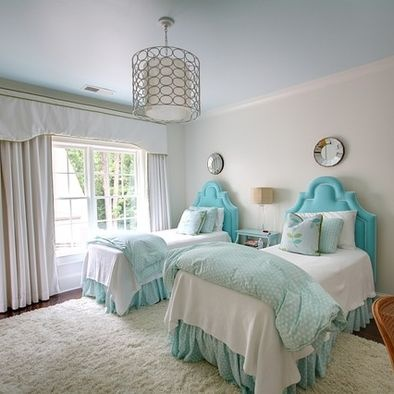 houzz bedrooms with twin beds 1