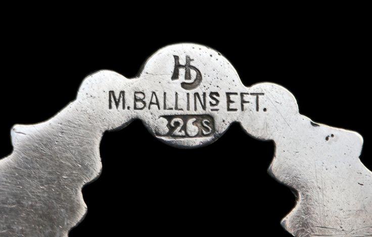 MOGENS BALLIN (1871-1914)  Skonvirke Brooch 11,4g c.1900