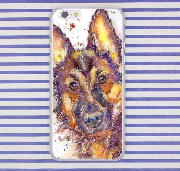 Artistic German Shepherd Phone Case