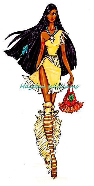 The Disney Diva's collection by Hayden Williams: Pocahontas by Fashion_Luva, via Flickr
