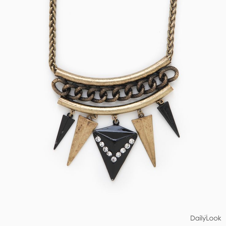 Edgy Arrowhead Necklace.