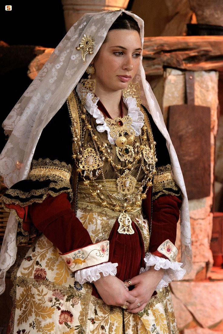 Abito tradizionale di Quartu Sant'Elena