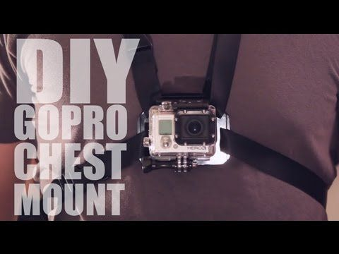 DIY GoPro Chest Mount (aka Chesty)