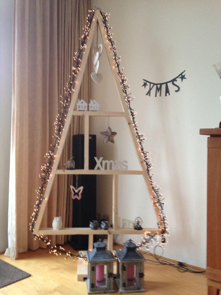 Alternatieve houten kerstboom dit jaar!