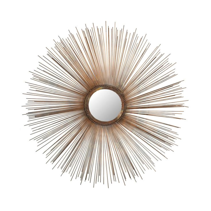 Floating Dandelion Wall Mirror | dotandbo.com