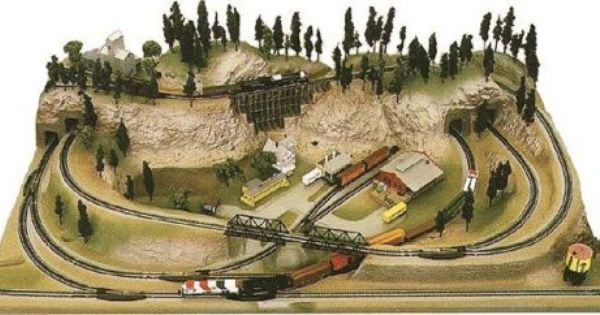 1000+ images about N scale trains & Layouts on Pinterest | Model ...