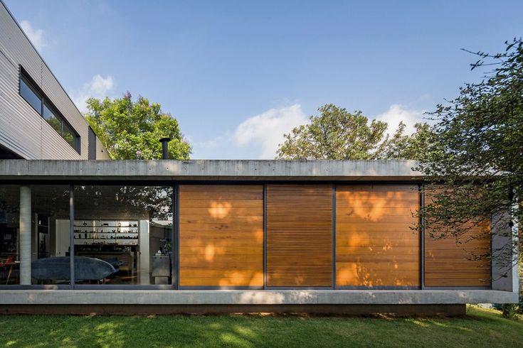 metro arquitetos associados LP house sao paulo brazil designboom