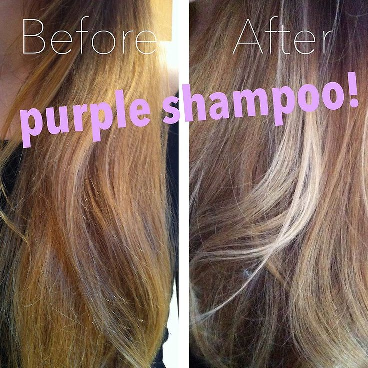 Image Result For Purple Shampoo Before After