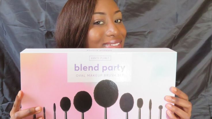 Vanity Planet Blend Party Oval Brush Set Review & ChitChat