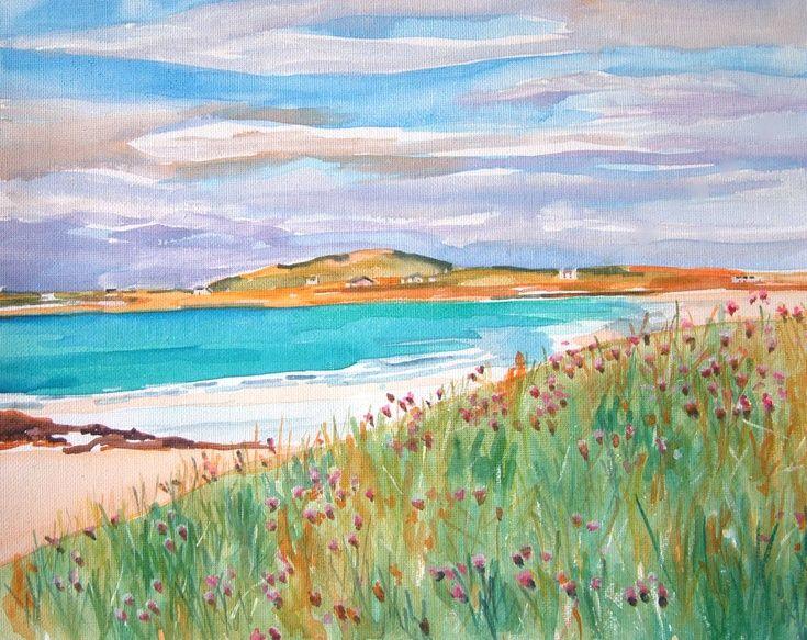 Hynish Bay, Tiree by Helen Smart