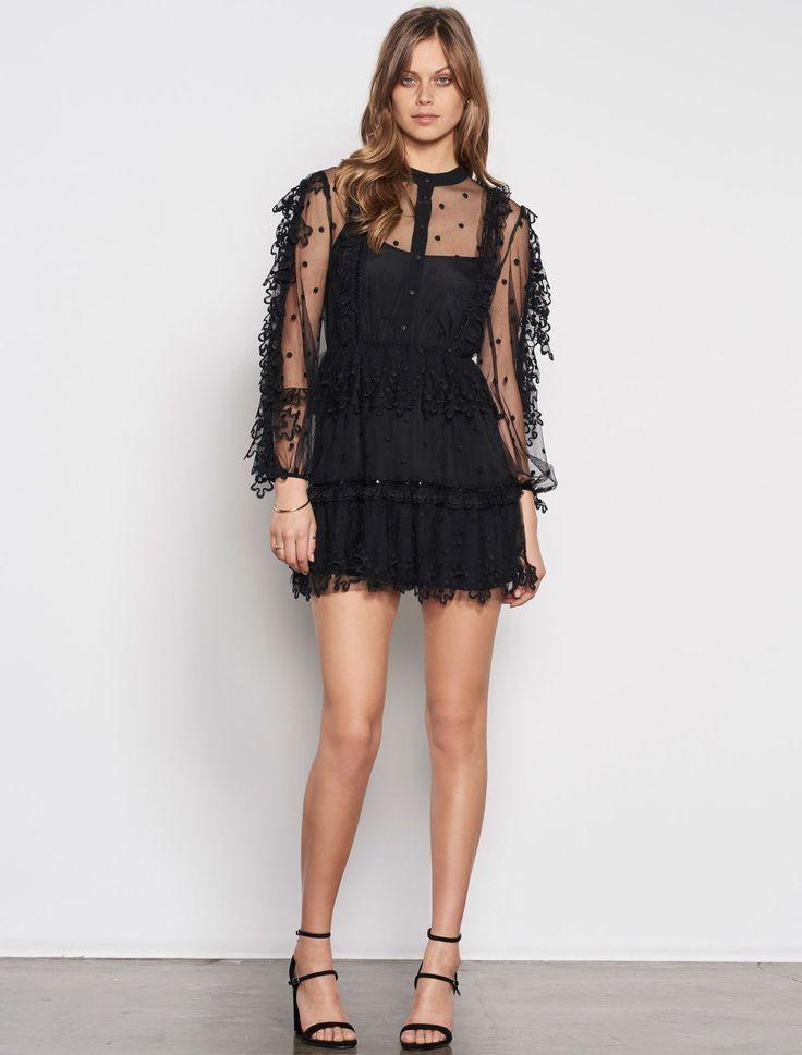 Stevie May - Complex Desire L/S Mini Dress