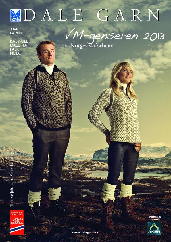 #DaleGarn Free Download Patterns DG264 VM 2013. #ThereseJohaug #PetterNorthug