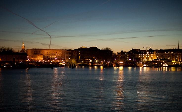 Utsikt från Junibacken. (View over Stockholm from Junibacken).
