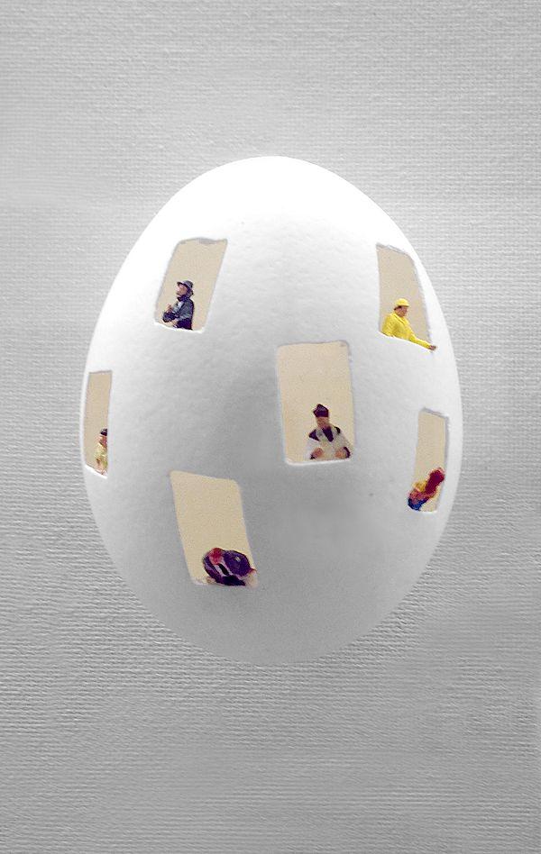 """2014 Art Expo NY   Riccardo Gusmaroli — """"Egg Condo"""""""