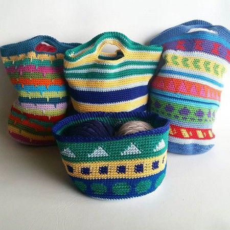 Crochet Bags Tutorial | spincushions | Bloglovin'