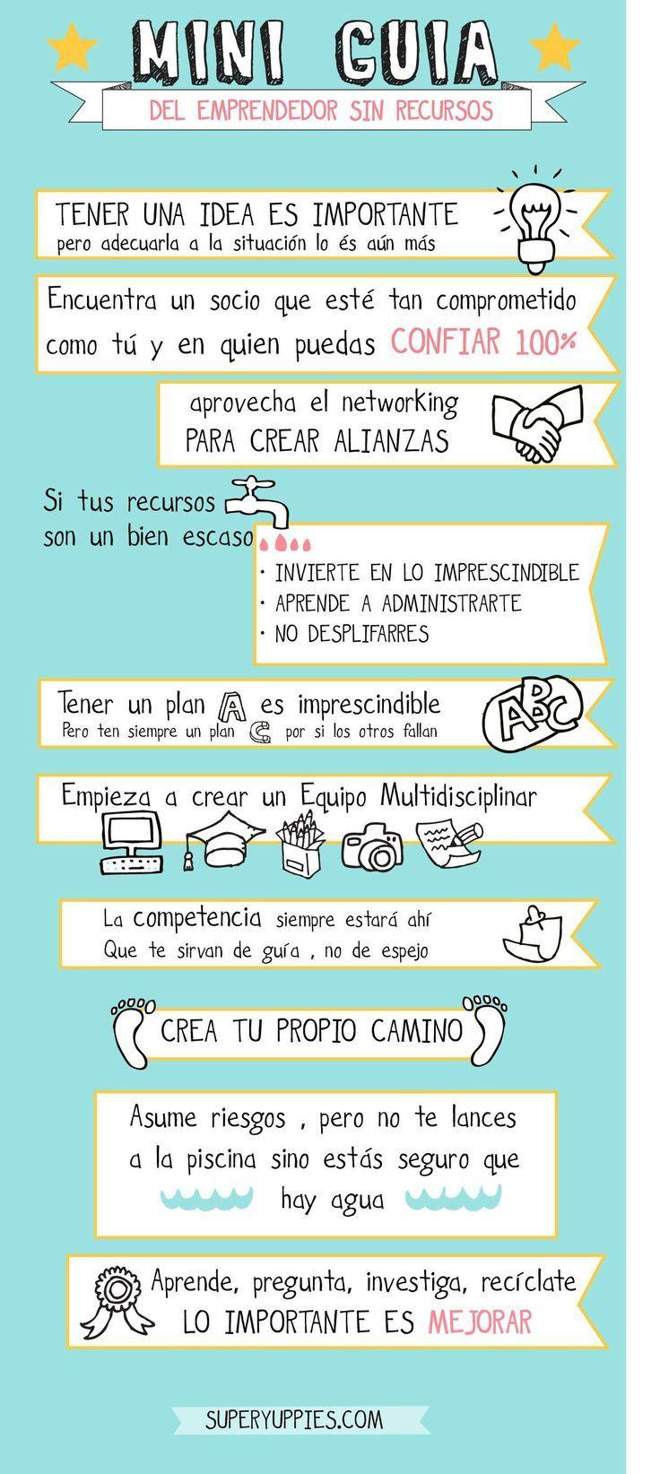 Mini guía para emprendedores! #umayor #emprendedores #estudiantes