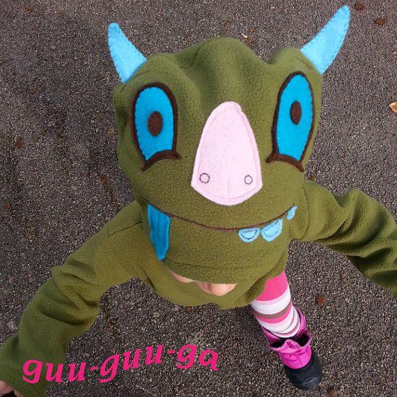Leonardo the Terrible Monster costume for baby toddler