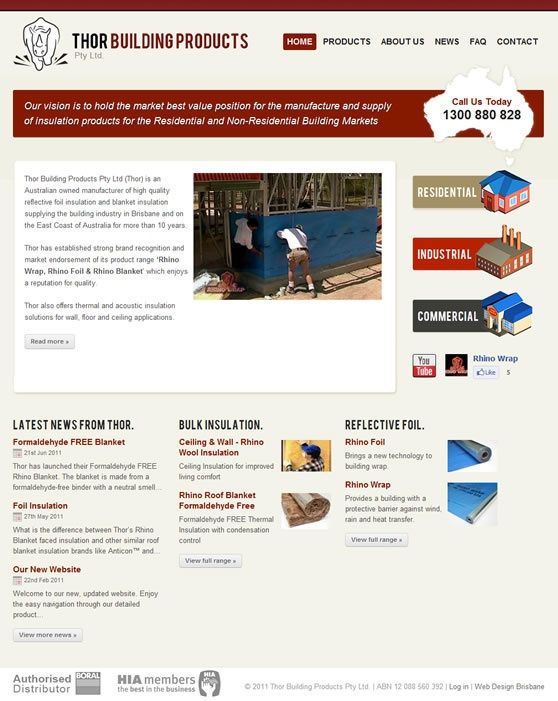Thor Building Website