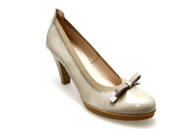 Escarpins HISPANITAS 25843 Beige - Chaussures femme