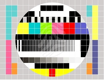 retro test pattern