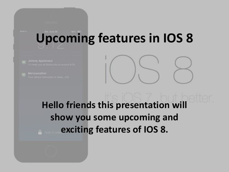 Apple IOS 8: New and exciting features