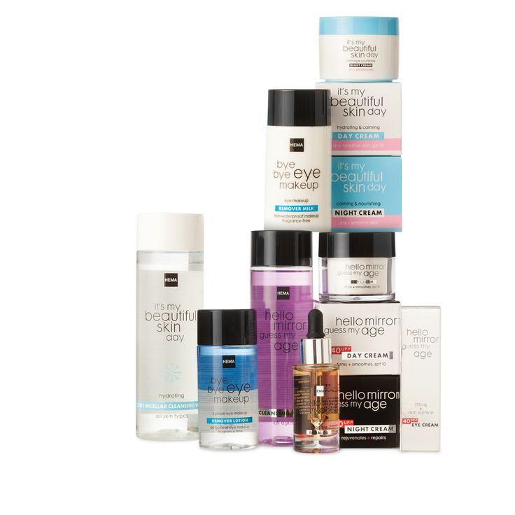 Geef je huid een boost met onze fijne beauty producten. Bekijk de aanbiedingen op HEMA.nl