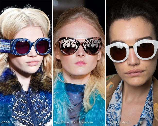 eyewear trends  Top 21 ideas about EYEWEAR SUNGLASSES 2015 2016 2017 TRENDS on ...