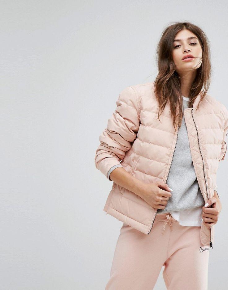 Converse - Wattierte Jacke in Rosa - Rosa Jetzt bestellen unter: https://mode.ladendirekt.de/damen/bekleidung/jacken/sonstige-jacken/?uid=eeb88405-06b5-5d8b-a248-d0db2226fb4c&utm_source=pinterest&utm_medium=pin&utm_campaign=boards #mäntel #female #sonstigejacken #bekleidung #jacken