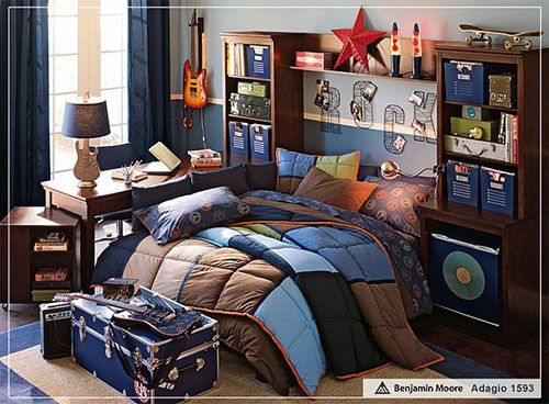 Boys camo room ideas 12 cool teenage bedroom ideas for for Cool boys bedroom ideas