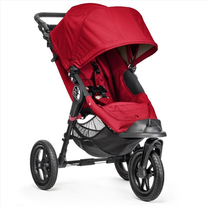 This all-terrain deluxe swivel wheel stroller can be customized from birth and…