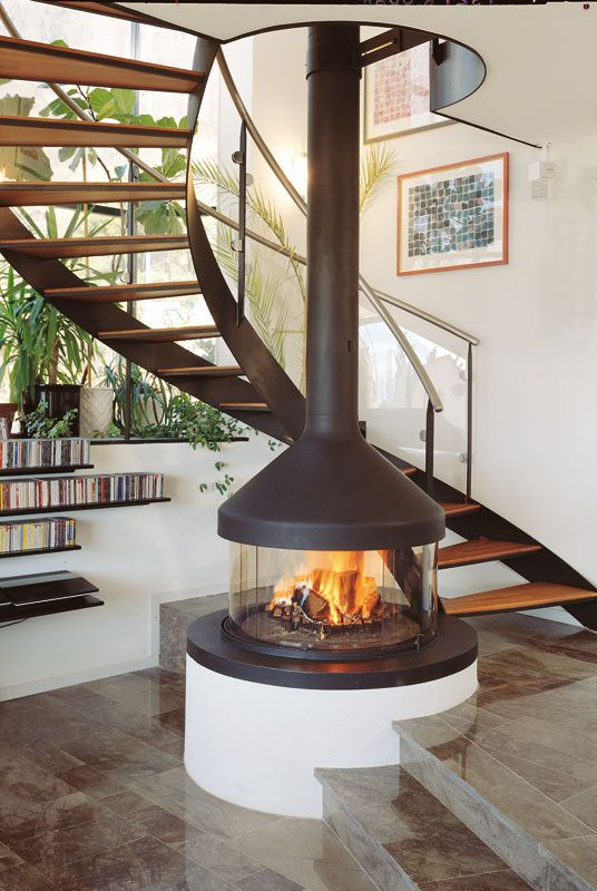 27 best Focus Luxus-Kamine images on Pinterest Fire places - moderne luxus kamine