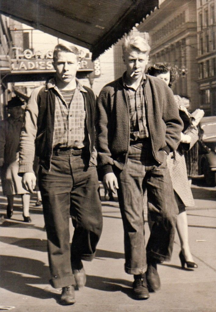 """""""Frank French and Don Hales"""" 1940s   1940s mens fashion ..."""