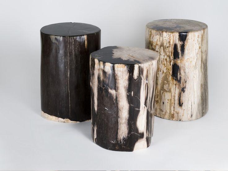 Amaris Elements Hocker versteinertes Holz B kaufen im borono Online Shop