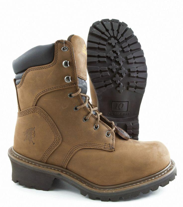 "Chippewa 8"" Oblique Steel Toe Logger (55025)"