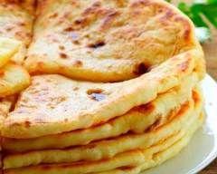 Pain indien paratha (facile, rapide) - Une recette CuisineAZ