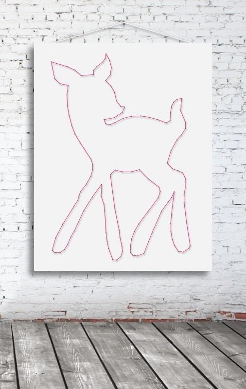 Hertje | Winkel | spijkerpatroon